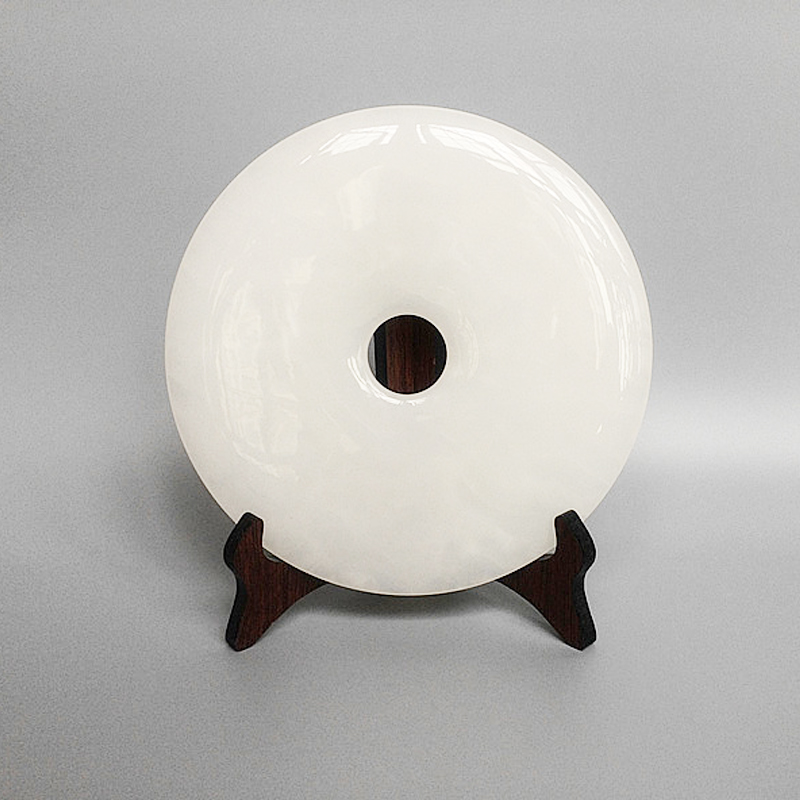 Chinese natural white jade Ping jade ornaments peace Home Furnishing jewelry ornamentsChinese natural white jade Ping jade ornaments peace Home Furnishing jewelry ornaments
