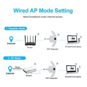Image 4 - Wifi Repeater Wifi Tăng Áp 300Mbps Bộ Khuếch Đại Wi Fi Tín Hiệu Dài Bộ Khuếch Wi Fi Repeater 802.11N Điểm Truy Cập