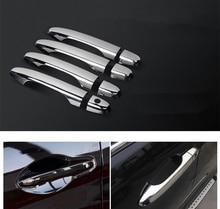 For Honda CR-V CRV / Civic 2012 2013 2014 Set Chrome Door Handle Covers trim Car Accessories