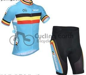 Free shipping! Belgium 2013 short sleeve cycling jersey shot,bike bicycle riding wear cl ...