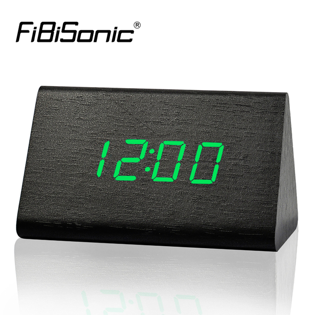 0fc1d6fe84a FiBiSonic Fábrica Termômetro Moderno Relógios de Mesa
