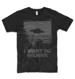 I Want To Believe T Shirt Alien Ufo Area 51 Roswell X Files Space Ship Grey Sin Summer 2019 Pop Cotton Man Tee Funny Tee Shirts(China)
