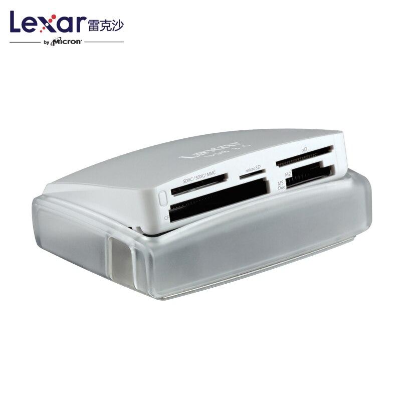 Lexar Lexar haute vitesse USB3.0 lecteur CF SD XD M2 25 en 1 multi fonction lecteur de carte dans