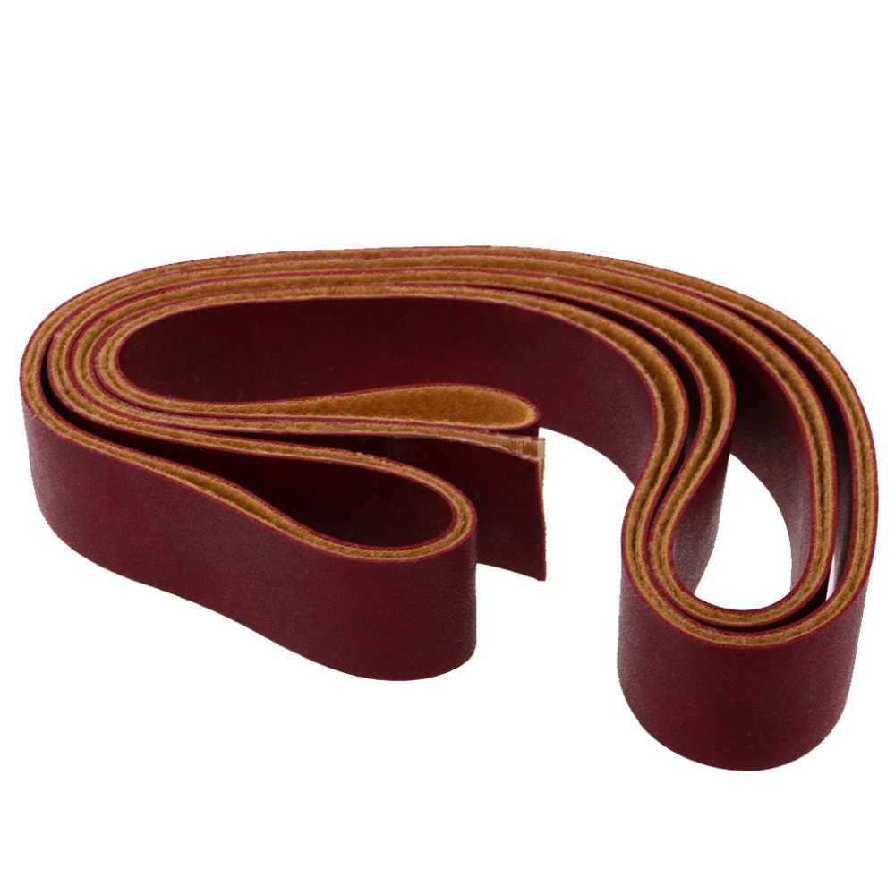 Leather Strip Handmade DIY Luggage Accessories& Parts Luggage Belt Blank 10m Can Be Dying Soft Leather Travel Strips Brown