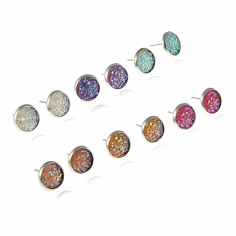 Vintage Hot Sale Fashion Crystal Rhinestone Stud Earrings for Women Girl Stud Earrings Wedding Bride Jewelry
