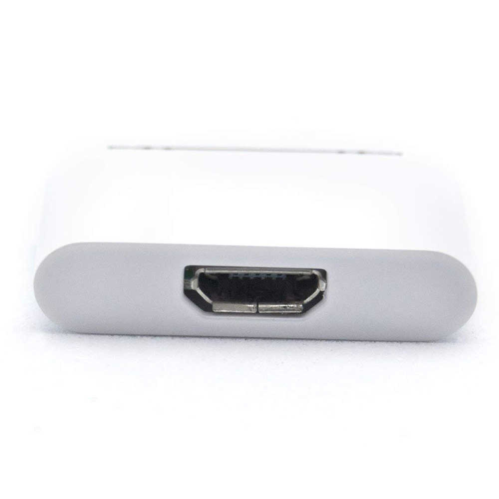 Nữ Micro USB To 30 Pin Đầu Nối Nam Cho Apple iPhone 4 4S IPhone4S 3gs Ipad 1 2 3 ipod Sạc Cáp Phụ Kiện