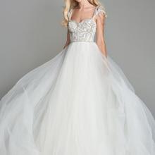 Loverxu Wedding Dress 2019 Sleeveless Bride Dress
