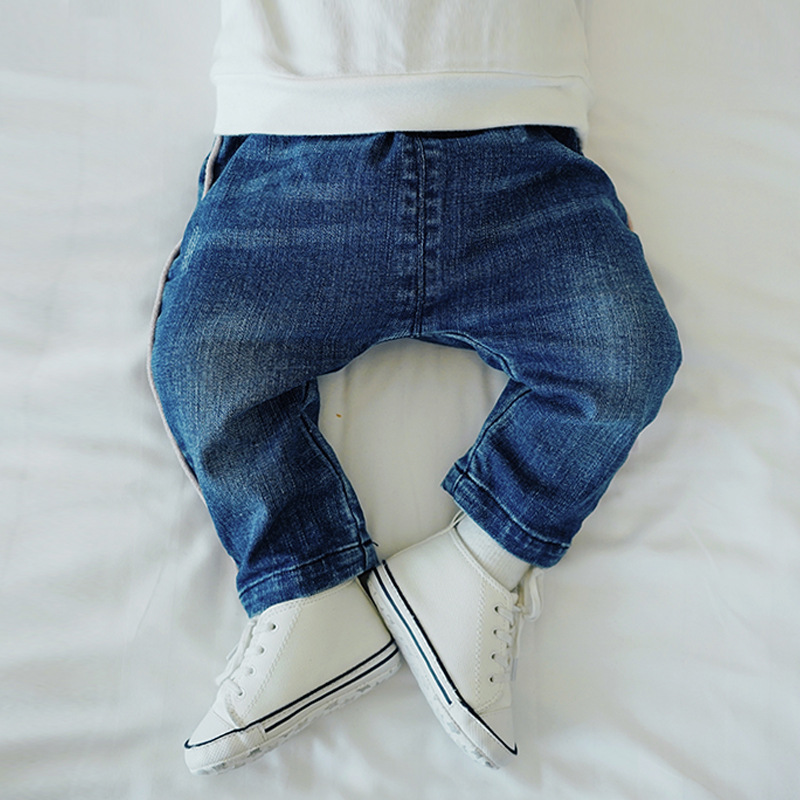 Celveroso Jeans for Baby Boys and Girls 2019 Spring New Fashion Kids Cotton Trousers Cowboy Casual Pants for BabiesToddler