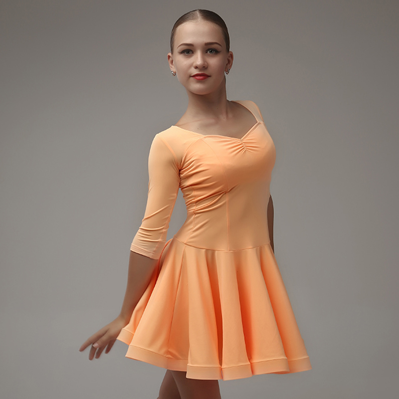 Picture of Dance Costumes Kids Latin Dresses Modern Dance Costumes For Kids Latin Dress Girls Dance Costumes Rumba Samba Costumes