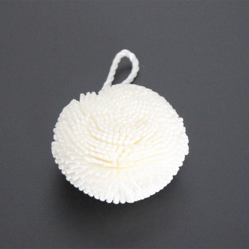 2Pcs/set 10*6cm White Color Natural Soft Comfortable Bath Shower Sponge Kit Tool Product фото