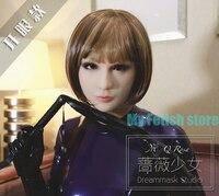 แฮนด์เมดซิลิโคนเซ็กซี่หญิงใบหน้าKigurumiคอสเพลย์C Rossdress DMSหน้ากากที่มี