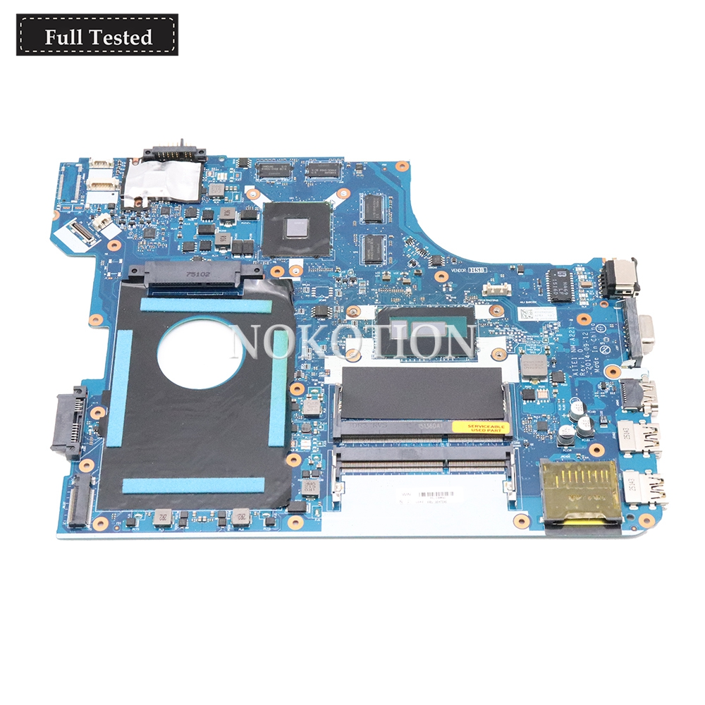 NOKOTION 00HT646 AITE1 NM-A221 para Lenovo Thinkpad FRU E550 E550C Laptop Motherboard Radeon R7 M265 i7-5500U CPU onboard DDR3L