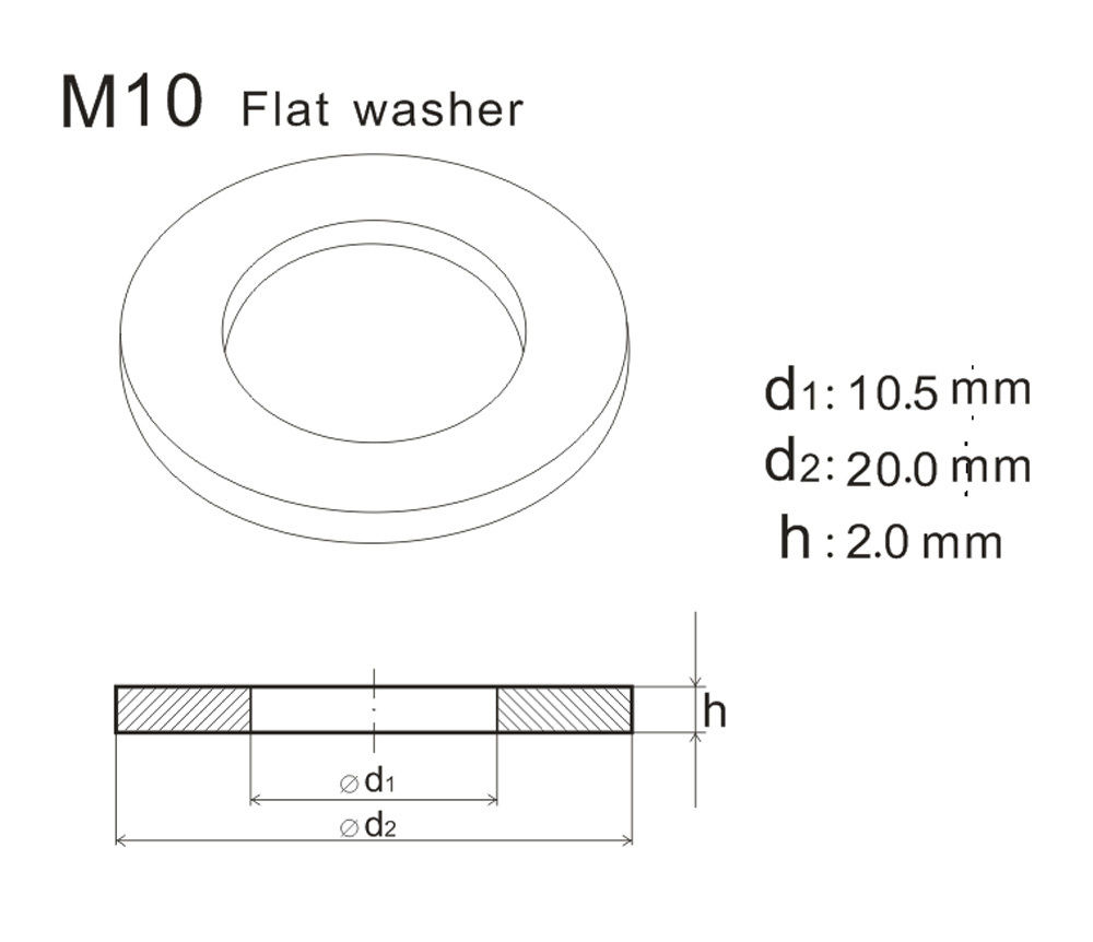 Unique Flat Faucet Washer Sizes Frieze - Faucet Products ...