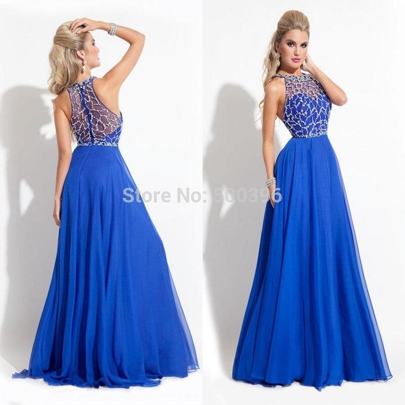 Vestidos de fiestas azul