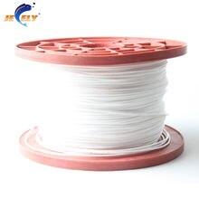 Бесплатная доставка 100 м 350кг 16 прядный 2.1 мм свмпэ волокна оплетки дупло Рыбалка веревки трюк Кайт линии белого цвета