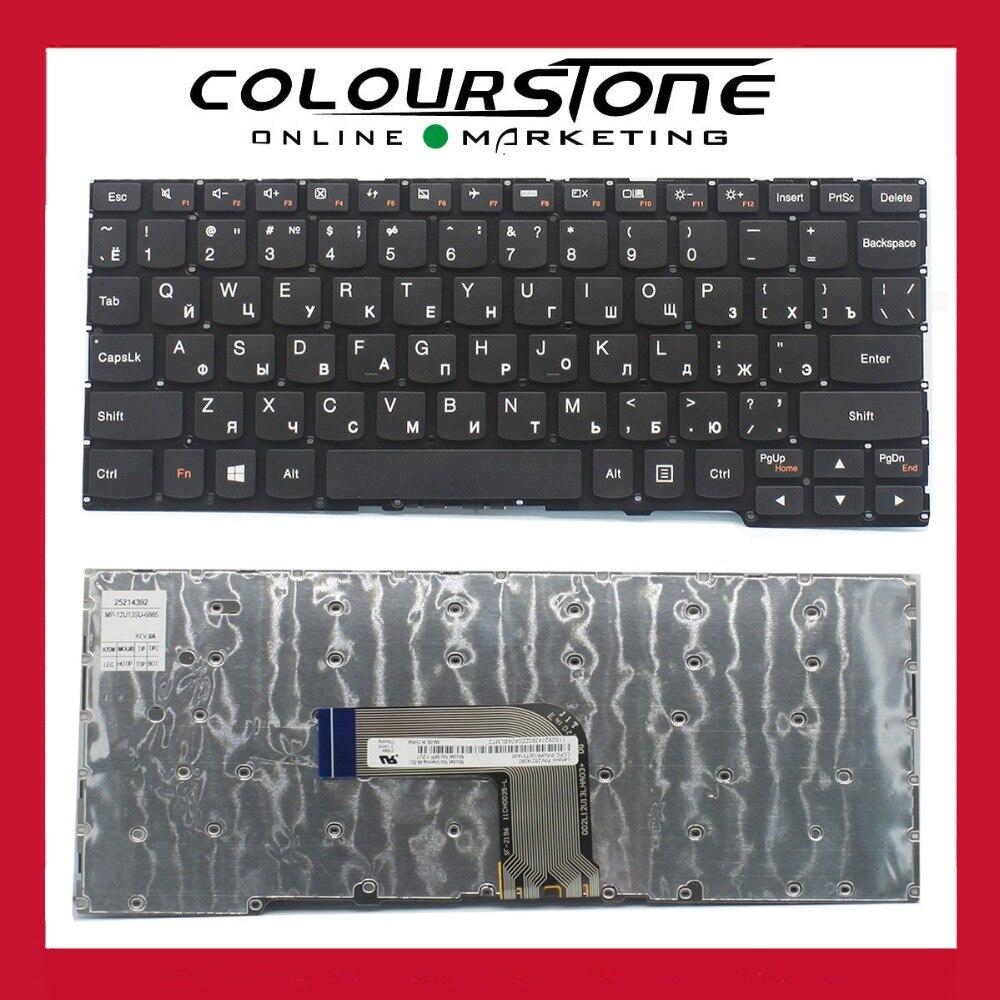 Genuine new For Lenovo Ideapad Yoga 2 11 Yoga2 FELX10 FELXA10 RU Russian Black laptop keyboard 25214392