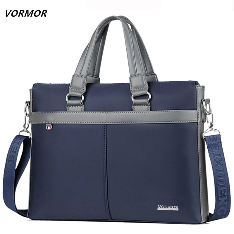 Sporting Vormor Top Verkauf Mode Einfache Berühmte Marke Business Männer Aktentasche Tasche Oxford Laptop Tasche Casual Mann Tasche Schulter Taschen Aktentaschen