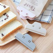 Household Food Plastic Bag Sealing Clip For Milk Powder Tea Snack Bag Sealing Clip Kitchen Storage Organization(China)