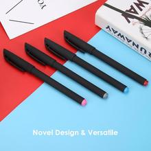 1pc Student Gel Pen Ballpoint Pens Signature Pen School Office Stationery Gifts high quility Signature Pen for students 2019 new ballpoint pen duke new music note ladies signature ball point pen 3 colors to choose office and school stationery free shipping