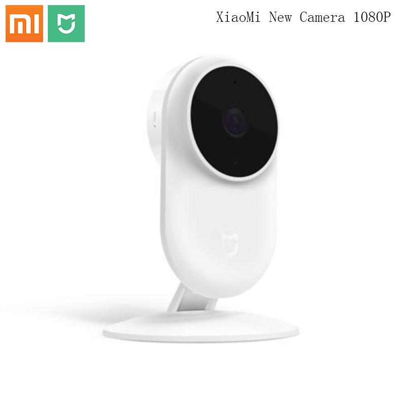 Original Xiaomi Mijia New 1080P IP Camera 130 Degree FOV Night Vision 2.4Ghz Dual-band WiFi Xiaomi Home Kit Security Monitor(China)