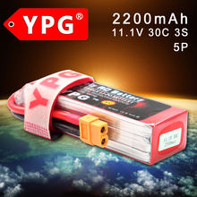 YPG 11 1V 2200mAH 30C 3S battery Lipo Li Po Lipoly Support 5 C charge Battery