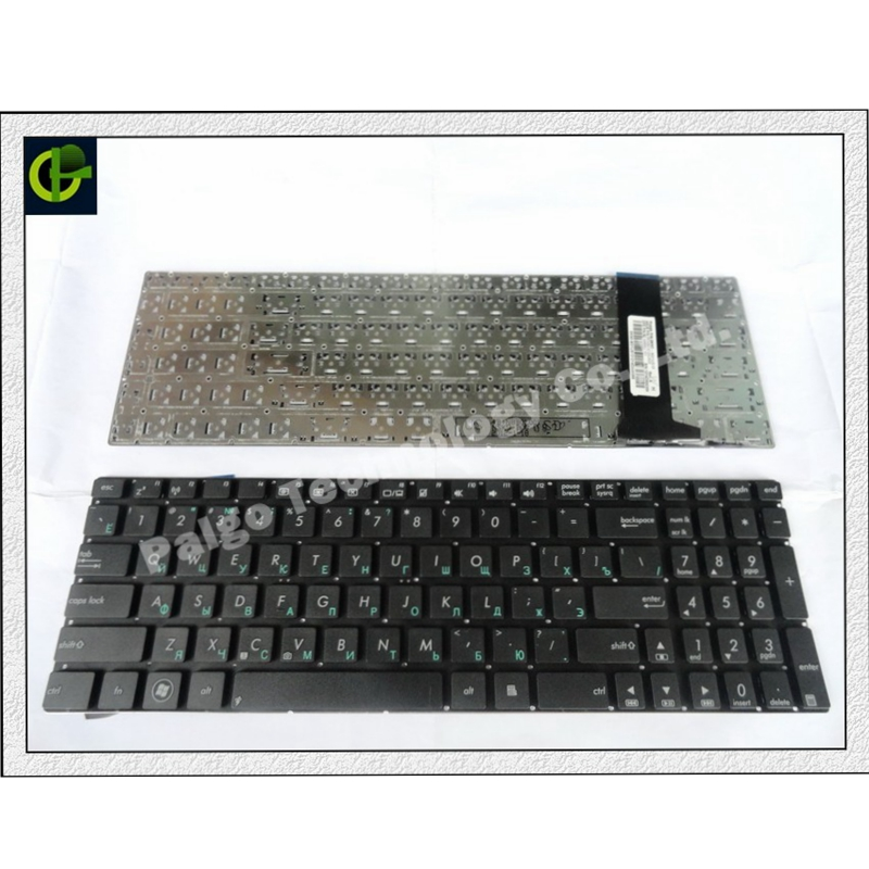 Russian RU Keyboard for ASUS N56 N56V N76 N76V N76VB N56DY N76VJ N76VM N76VZ U500VZ N56VV N56VZ U500VZ U500 U500V  Black-in Replacement Keyboards from Computer & Office on