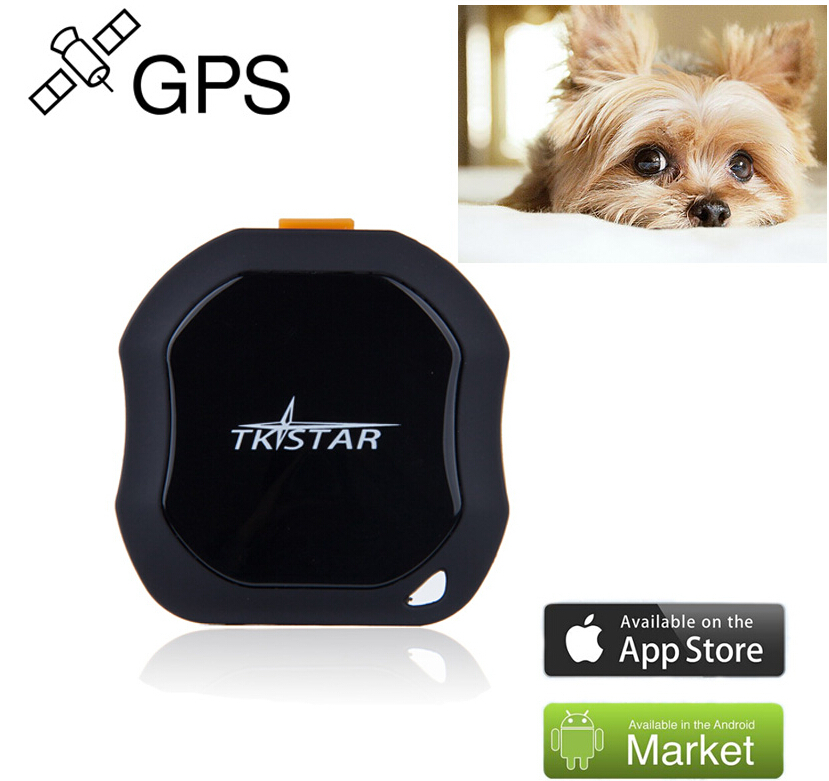 2G 3G WCDMA Mini GPS Tracker Locator IPX6 waterproof for small PET dog cat personal old