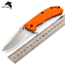 ZT0566 Bearing Survival Folding Knives D2 Blade Steel + G10 Handle Tactical Combat EDC Outdoor Knife Hunting Camping Multi Tools