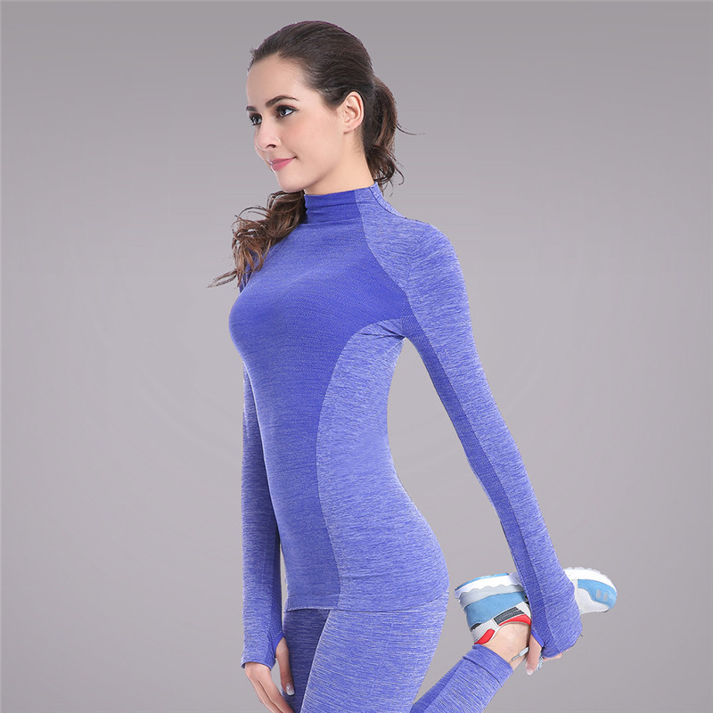 Women Professional Sports T-shirt Long Sleeve T shirts Quick Dry Fitness Running Training Yoga Wear Clothes