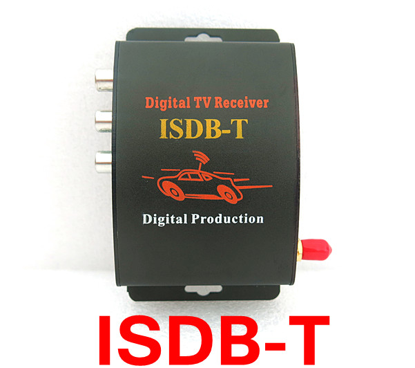 ФОТО Car TV Tuner ISDB-T ONE SEG MPEG-4 Digital TV BOX Receiver Mini TV Box Free shipping use in Brazil