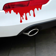 SLIVERYSEA 1 Pcs/lot Cool Blood Reflective Car Sticker Tail Light window Decals for Mazda Kia BMW Volkswagen Golf Peugeot