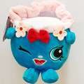 Fruit Lovely Cute Shopkin Bag Cartoon Figure 19-25cm Stuffed Toys ,Soft Plush Puppets Christmas Gift For Kids