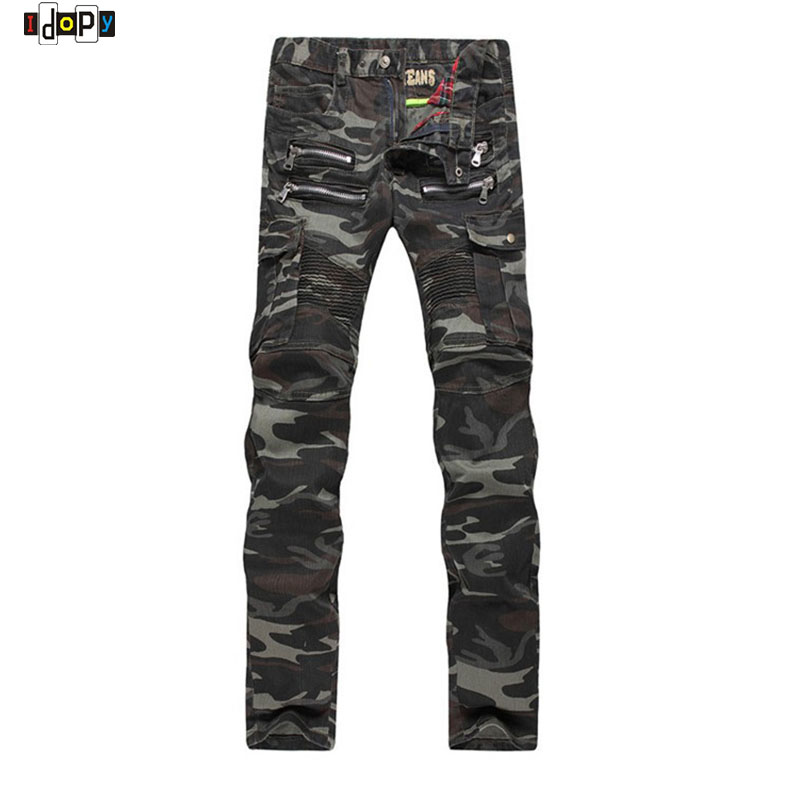 Combine camo-print jogger pants with a styled T-shirt, or dress up your slim trousers with a tucked-in collared shirt. Available in a variety of attractive colors and fabrics, the designer pants in our collection are a must-have for the contemporary man.