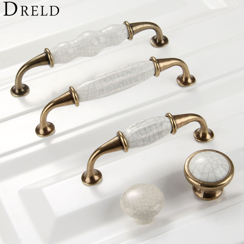 Kitchen Cabinet Knobs And Handles: DRELD Antique Furniture Handles Furniture Hardware Cabinet