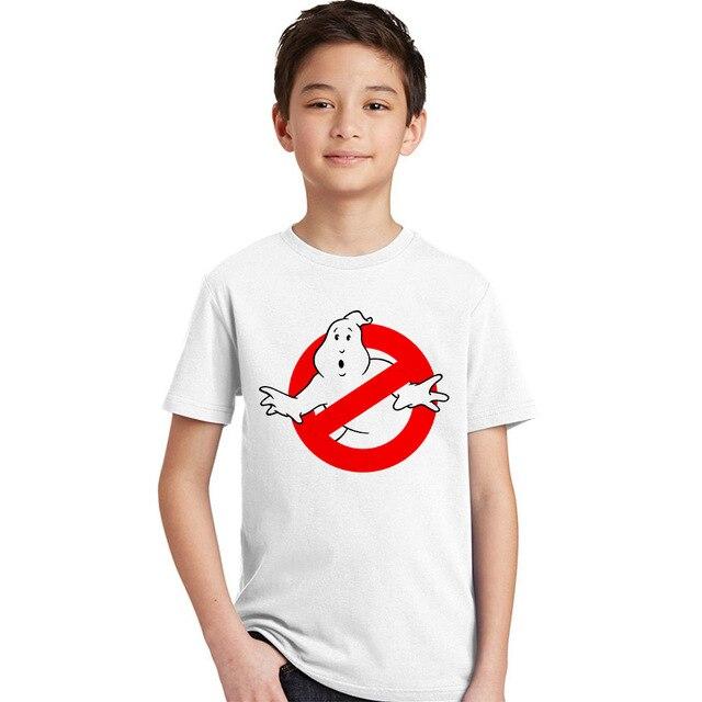f7eda9937 Ghostbusters T Shirt Kid 2017 Summer T-shirt 100% Cotton Crew Neck Baby  Tshirt