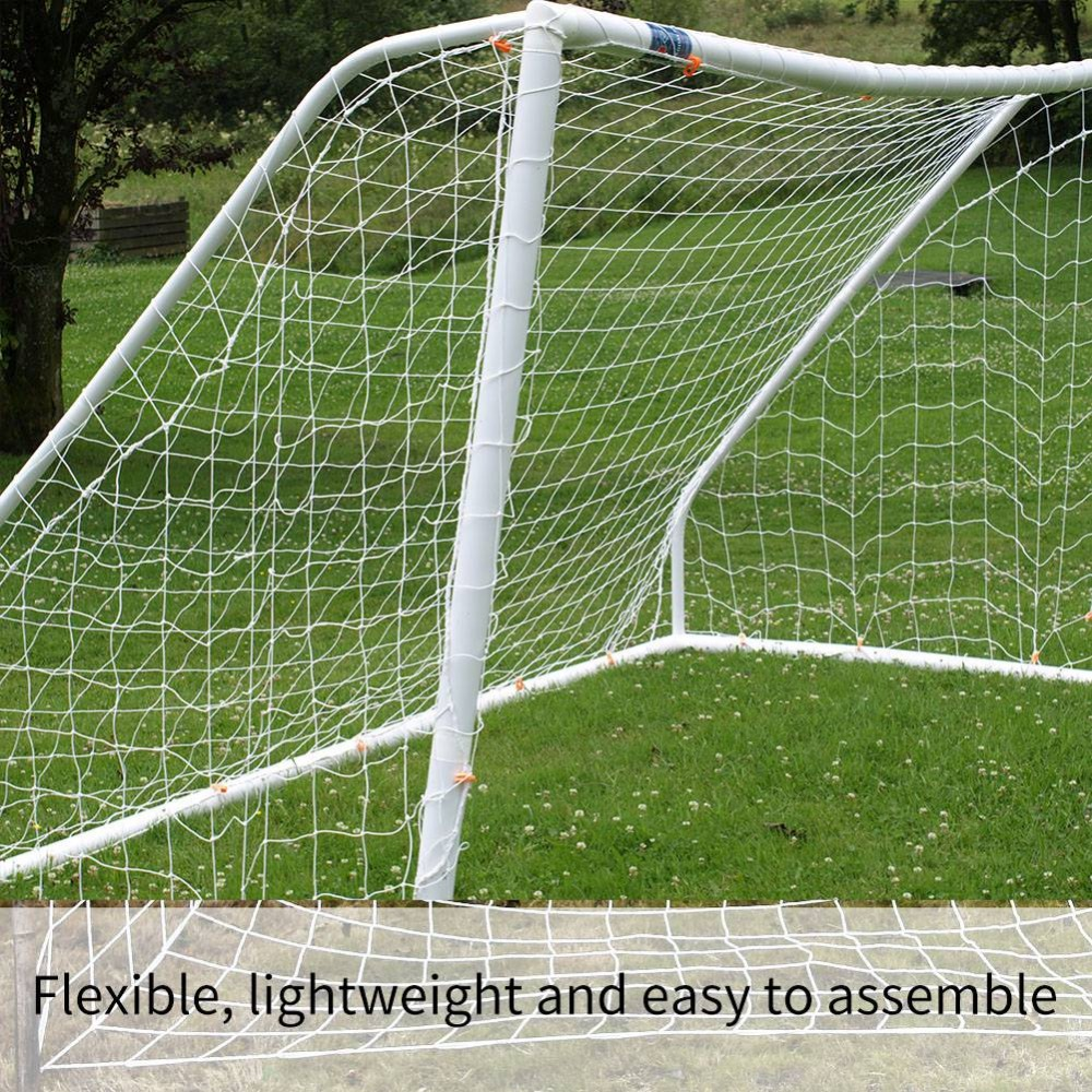 Portable Football Net 2.4 x 1.2M Soccer Goal Post Net Foldable Football Nets Football Accessories Outdoor Football Training Net