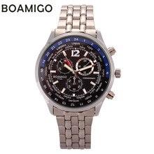 2016 BOAMIGO chino hombres reloj de pulsera de cuarzo reloj de Mens relojes de primeras marcas de lujo Hodinky reloj Horloges Mannen Relogio Masculino
