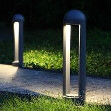 Thrisdar 10 Вт Открытый сад Газон лампа водонепроницаемый пейзаж забор пост газон свет современная вилла парк уличный путь световой столб