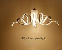 T Simple Creative Circular Ceiling light White Branch Acrylic novelty lighting With LED bulbs Bedroom Restaurant Lighting