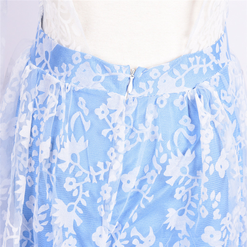 Women's Casual Solid New Sexy Dress Long Dress Lace Dress One-Piece Dress