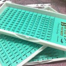 Купить с кэшбэком 5D Premade Volume Lashes Fans Volume Lashes Fans Semi Permanent 1Tray/Set Individual Eyelash Extensions Free shipping
