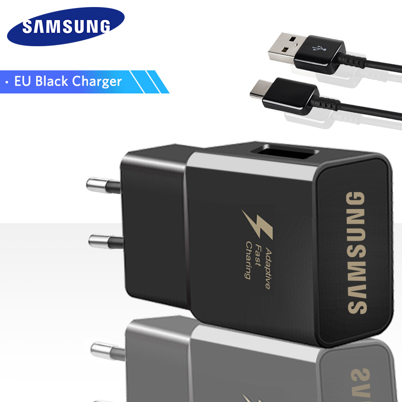Samsung Galaxy S9 S8 S8 Plus note 8 Originele Adaptieve Fast Charger Travel Adapter EU ONS UK 9V1. 67A & 5V2A Quick Charger 3.0