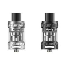 Vapefly фантазия Мини Танк новейших электронных сигарет sub ом майка сбоку заполнения отверстия, Замок-Cap функция 25 мм диаметр