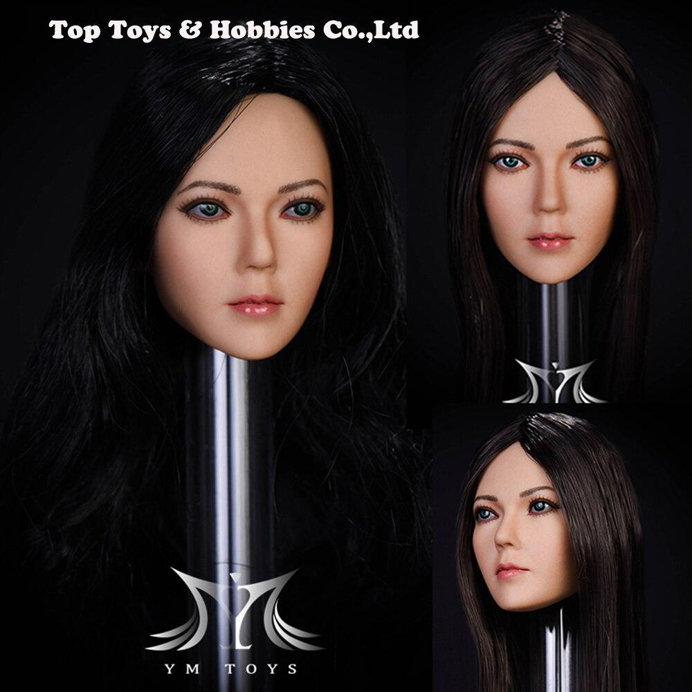 1/6 échelle asiatique femme chanson tête sculpter sculpté Figure fille tête modèle pour 12