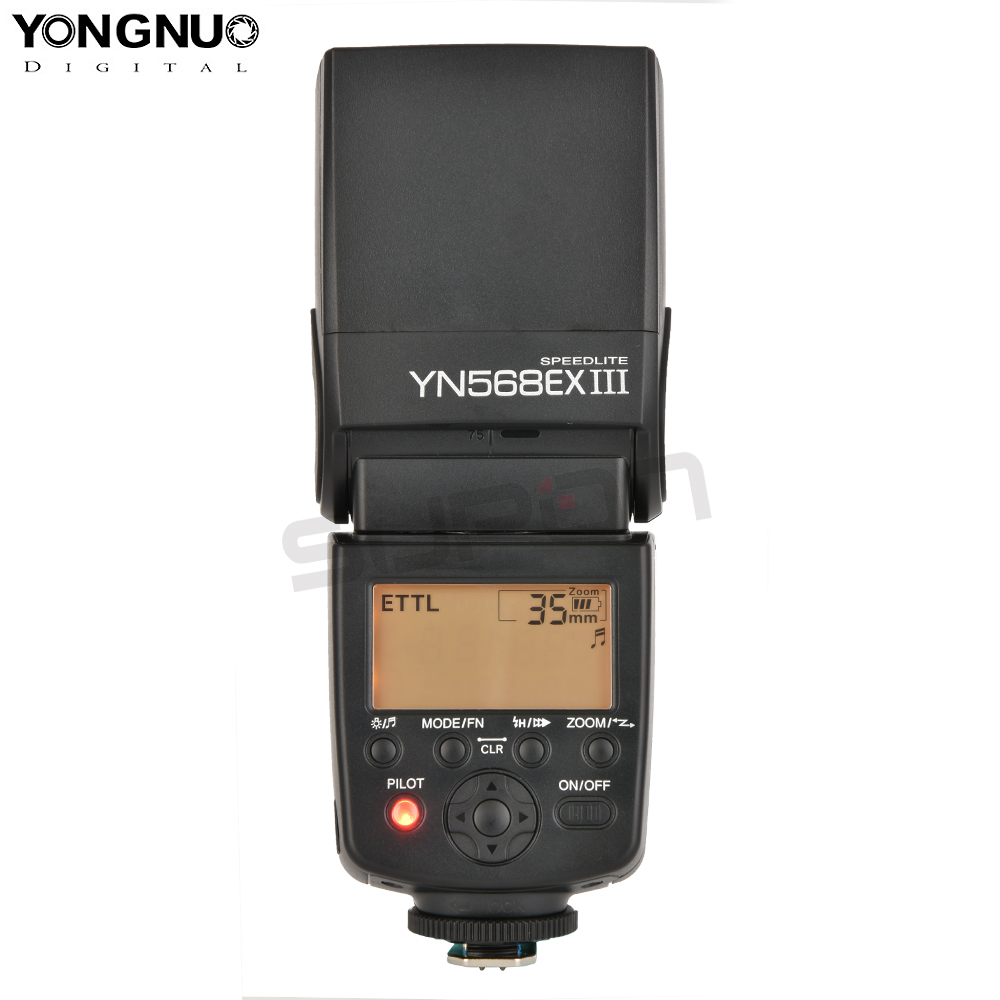 Yongnuo YN568EX III Wireless TTL HSS 1/8000s Flash Speedlite For Canon 6d 60d 550d 650d 5d mark iii 100d DSLR Cameras yongnuo yn568ex iii wireless ttl sync 1 8000s hss flash speedlite for canon 1dx 1ds 5d mark iii iv 70d 80d 7d 6d 700d 750d