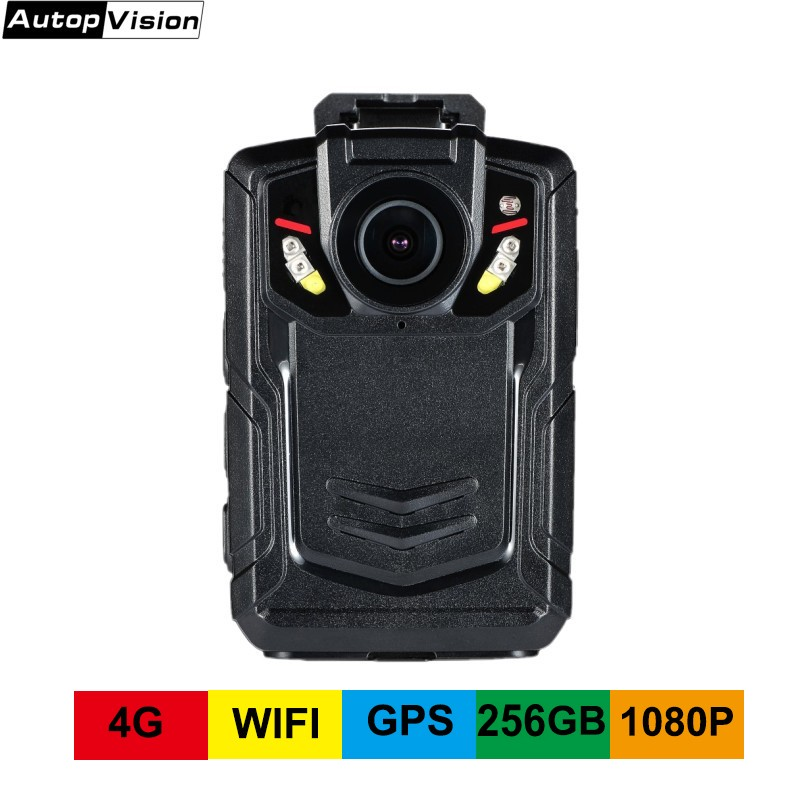 4G GPS WIFI 1080P 256GB portable recorder body Worm camera BC002 for police man Public security