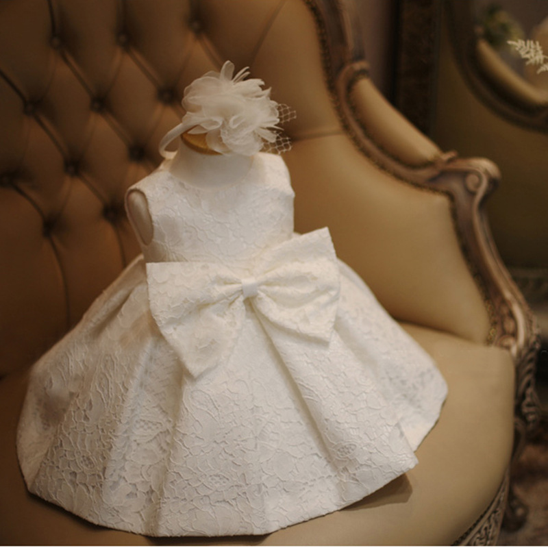 baby girl Birthday Party Dresses Princess baby girls wedding dress baby girls christening dresses Baptism Dress for newborn