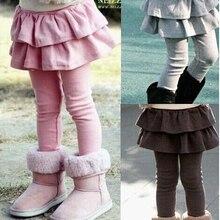 Розничная, 1 предмет, леггинсы для девочек детская юбка-брюки для девочек, юбка-торт штаны для девочек