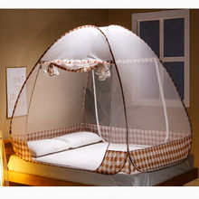 Round Portable Mosquito Net Universal Bed Curtain For Bunk Insert Mesh Tent For Camping Home Folded Bed Net Free Installation(China)