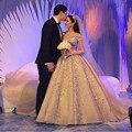 Elegante 2017 Nuevo Tafetán Con Lentejuelas vestido de Bola Vestido de Novia vestido de Novia vestido de noiva Robe De Mariage casamento vestidos de novia